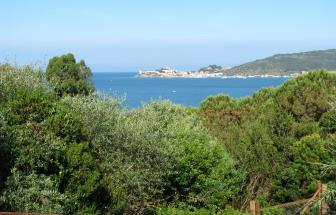Casa Verde - Blick auf die Bucht von Talamone