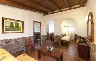 Casetta Venere Wohnzimmer