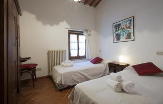 Burg bei Gaiole -  Schlafzimmer Lungo