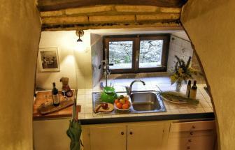 Gutshof Roccatederighi - Wohnung Maestra -  Küche