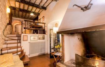 Gutshof Roccatederighi - Wohnung Maestra - Wohnraum