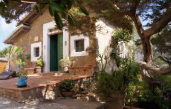 Häuschen Chiesetta beim Turm von Campese - Insel Giglio