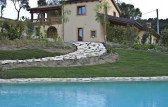 SCAR01 - Bio-Ferienhäuser bei Scarlino - Pool d