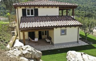 SCAR01 - Bio-Ferienhäuser bei Scarlino - Haus e