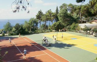 BONA01 - Feriendorf bei Bonassola - Tennis