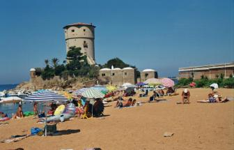 GIGL02 - Turm in Campese - Strand