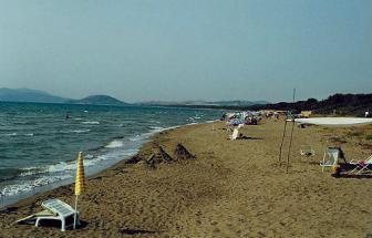 ALBI02 - Casale Breschi bei Albinia - Strand rechts