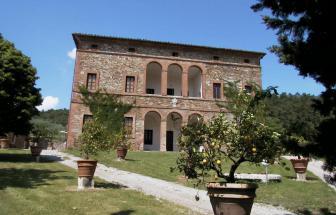 CRET01 - Fattoria in Crete Senesi - Haupthaus