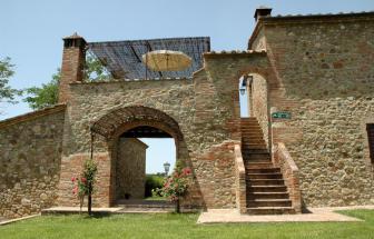 MURL01 - Kleine Ferienanlage bei Murlo - Caselle Aufgang