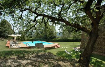 MURL01 - Kleine Ferienanlage bei Murlo - Caselle Garten