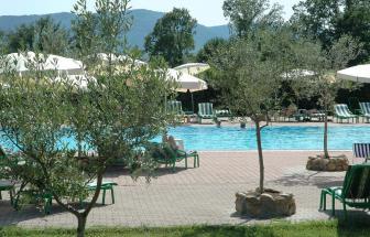 MURL01 - Kleine Ferienanlage bei Murlo - Pool Garten