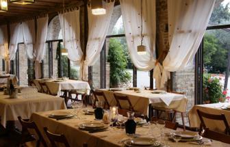 MANC01 - Bio-Gutshof bei Manciano - Restaurant innen