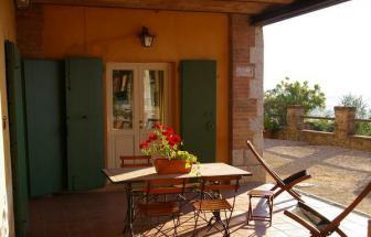 SOVI01 - Agriturismo bei Sovicille - Ferienwohnung Adriana