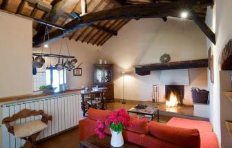 SOVI01 - Agriturismo bei Sovicille - Ferienwohnung Damiano
