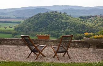 SOVI01 - Agriturismo bei Sovicille - Terrasse Luisa