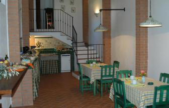 IST01 - Landgut bei Istia d' Ombrone - Frühstücksraum