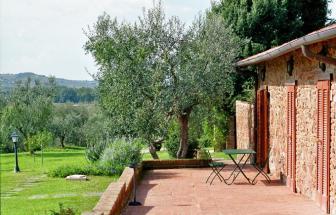 IST01 - Landgut bei Istia d' Ombrone - Terrasse