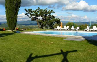 MOVE01 - Podere Gualda bei Monteverdi Marittima - Pool Blick