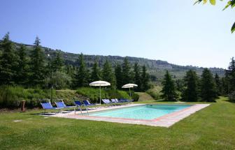 CORT09 - Villa Fontocchio bei Cortona - am Pool