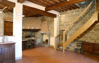 CORT09 - Villa Fontocchio bei Cortona - Treppe