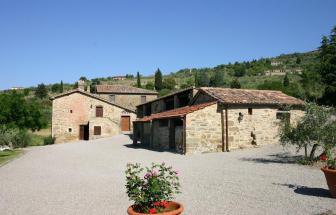 CORT09 - Villa Fontocchio bei Cortona - Zufahrt