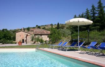 CORT09 - Villa Fontocchio bei Cortona - Pool