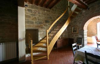 CORT09 - Villa Fontocchio bei Cortona - Treppe 2