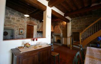 CORT09 - Villa Fontocchio bei Cortona - Innen