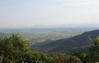 CORT08 - Villa Leccio bei Cortona - Ausblick