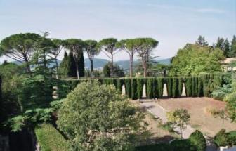CAMP01 - Herrschaftliche Villa in Campagnatico - Park