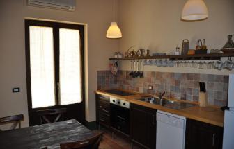 SCAR01 - Bio-Ferienhäuser bei Scarlino - Küche e
