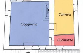 CORT11 - Casale bei Cortona - Grundriss