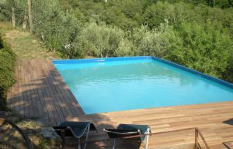 CORT11 - Casale bei Cortona - Pool