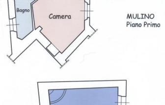 CORT11 - Casale bei Cortona - Grundriss 2