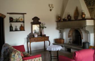 CORT11 - Casale bei Cortona - Wohnzimmer