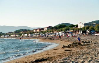 Sprachreise in die Maremma - Castiglione della Pescaia - Strand