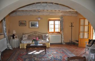 LUCC14 - Podere Oasi bei Lucca - Wohnzimmer