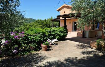 STEF03 - Villa Pini Monte Argentario - Eingang Terrasse