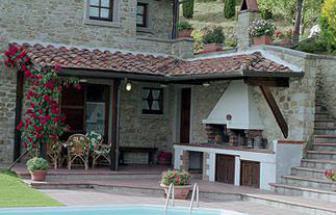 CAFI06 - Villa Foce bei Castiglion Fiorentino - Backofen