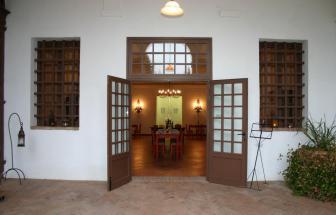 CRET01 - Fattoria in Crete Senesi - Eingang