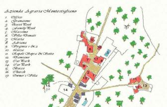 SOVI01 - Agriturismo bei Sovicille - Plan