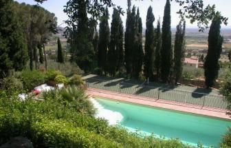 CORT06 - Villa Le Contesse bei Cortona - Pool