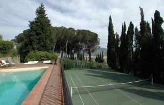 CORT06 - Villa Le Contesse bei Cortona - am Pool