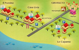 Ferienwohnung bei Grosseto GROS03