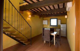 GROS05 - Casale Pozzino in der Fattoria bei Grosseto - Wohnküche 2