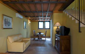 GROS05 - Casale Pozzino in der Fattoria bei Grosseto - Wohnraum