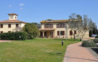 CECI01 - Kleine Ferienanlage bei Cecina - Restaurant mit Nachbarhaus