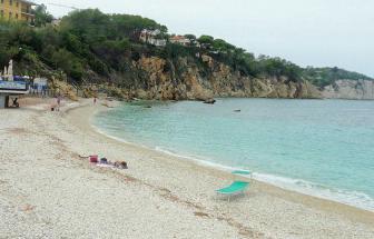 Strand bei Portoferraio - Insel Elba