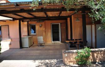 STEF03 - Villa Pini Monte Argentario - Terrasse vor Küche