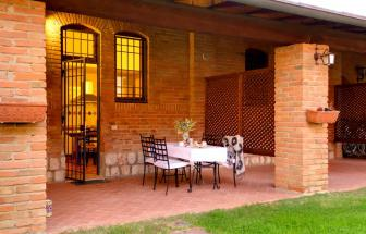 GROS04 - Casa Livia in der Fattoria bei Grosseto - Veranda